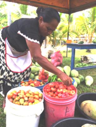 Albertina's empowerment grew with Harvesting Hope.