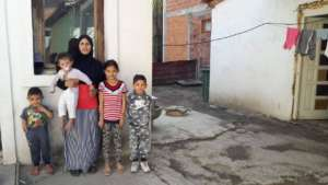 Lendita and her children