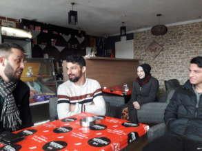 Hysni, Ramadan and his son, Ahmet