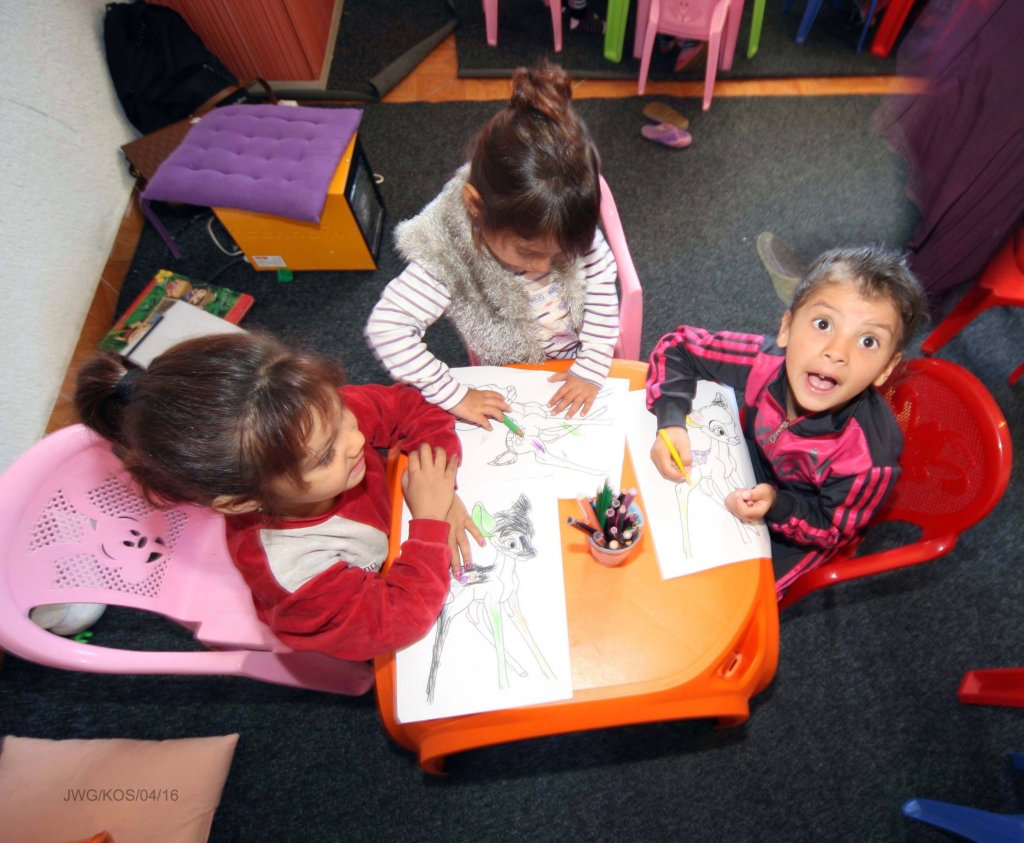 Get a Kosovan Kid to School