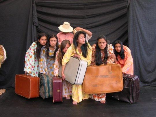 Theater classes help children of war to heal.