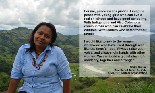 Healing for Sexual Violence Survivors in Colombia