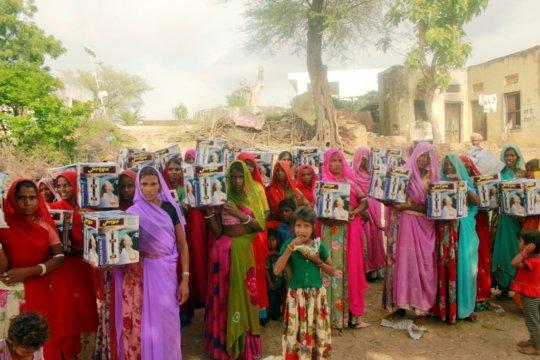 Seva Mandir provided water filters to villagers