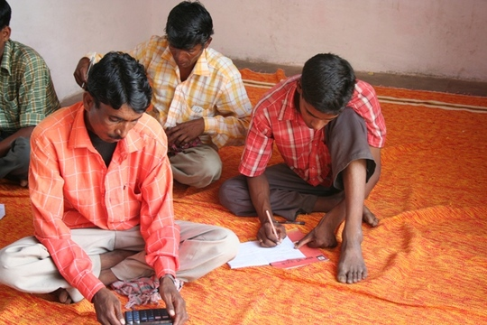 villagers at accountany training