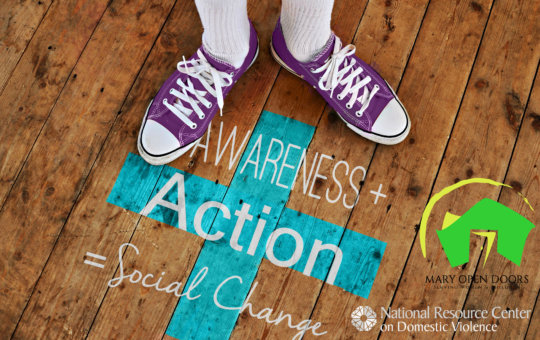 Awarness+Action=Social Change DV Campaign
