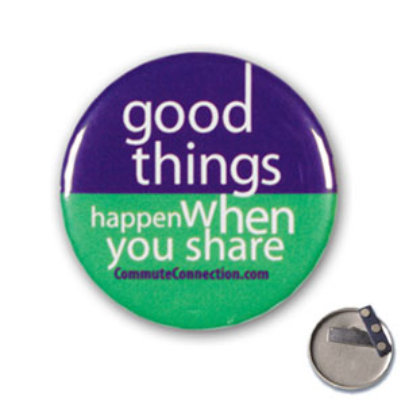 Good things happens when we share