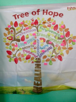 """""""Tree of Hope"""" from the B.A. 1 Project Training"""