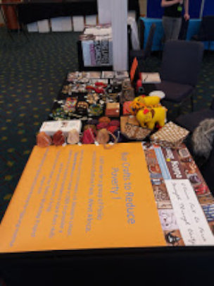 Craft sales at Rotary District Conference