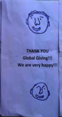 Thank you Globalgiving!