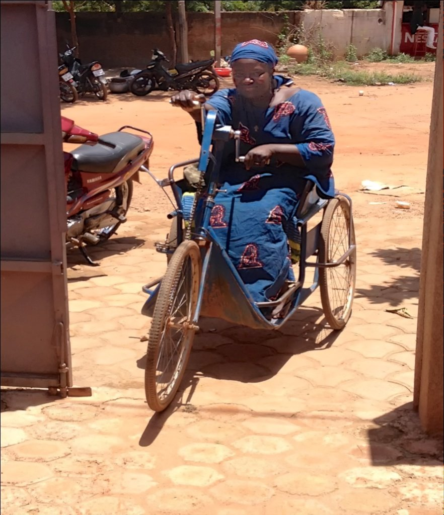 Build Workshop for Physically Disabled Burkinabes