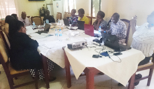 WBTi assessment core group from Tanzania(Africa)