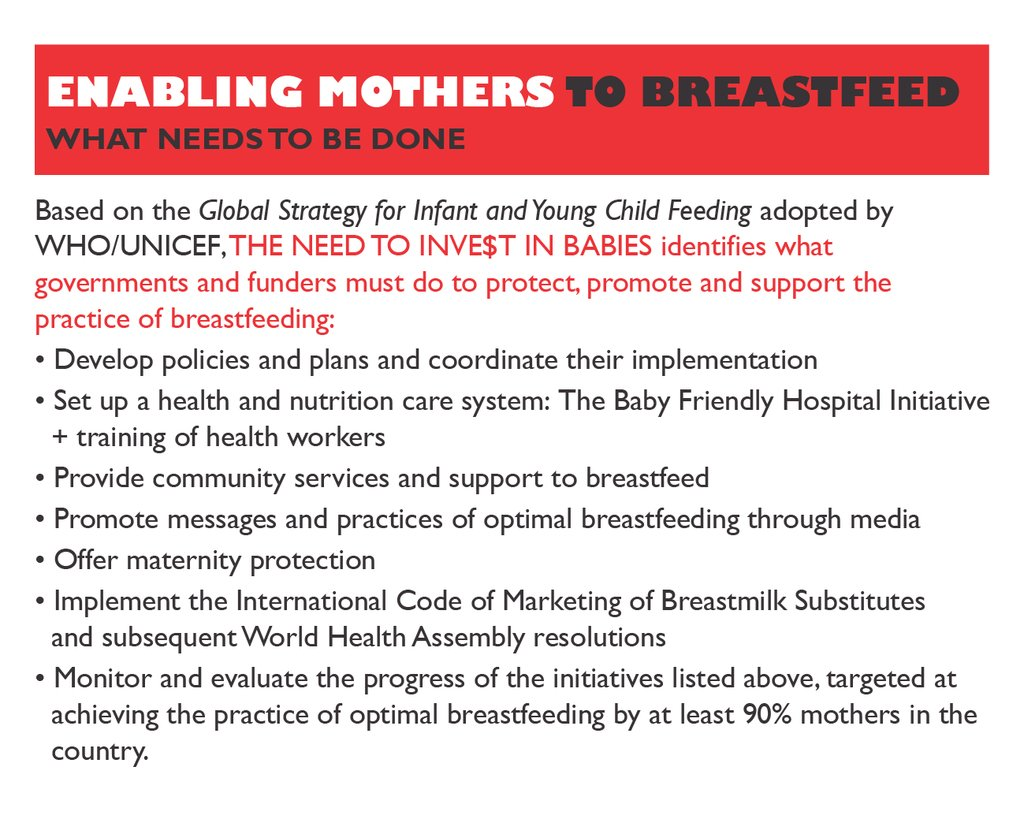 Save Infants' Lives by Promoting Breastfeeding
