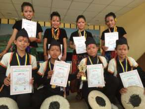 Once carpet kids, now second place winners!