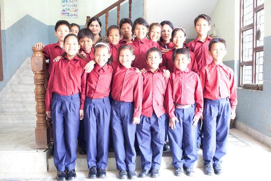 The children who call Hamro Ghar home