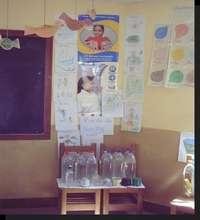 Healthy corner in class room