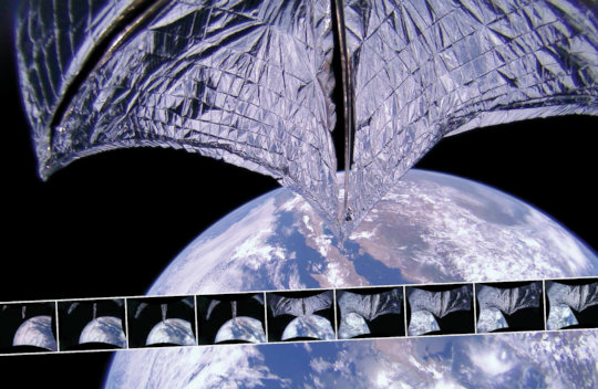 Dr. Bruce Betts' favorite pic of LightSail!