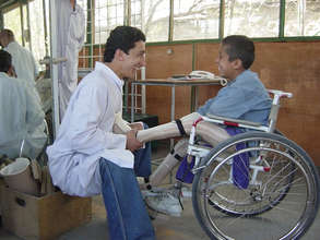 Assistive Devices Donation Project in Afganistan