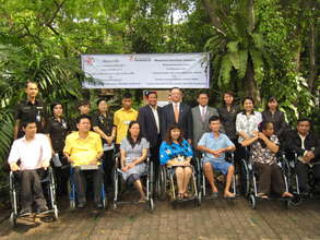 2010Assistive Devices Donation Project in Thailand