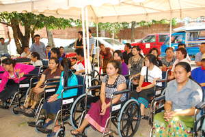 Assistive Devices Donation Project in Laos