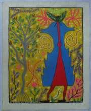 Lastenia's painting of plant spirit of Maranon