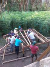 Training carpenters to build eco-latrines