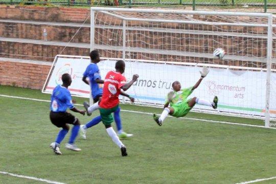 Burundi score goal in 2014 SCWC