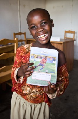 The joy of a schoolbook!