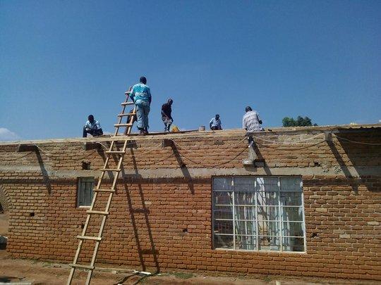BeeHive School Malawi Reconstruction 2