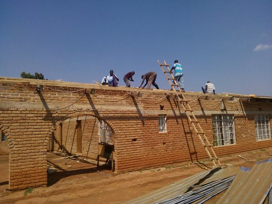 BeeHive School Malawi Reconstruction 4