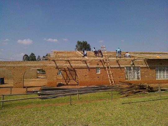 BeeHive School Malawi Reconstruction 1