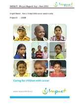 IMPACT - Project Report: Sep - Nov 2015 (PDF)