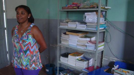 Sandra. School director.