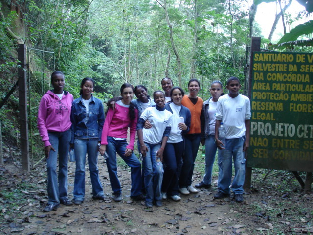 Valença School Group visits Wildlive Sanctuary