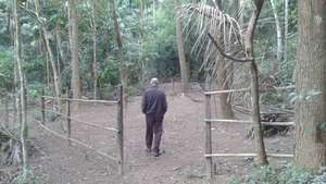 Empty tree nursery. 900 seedlings planted/year.