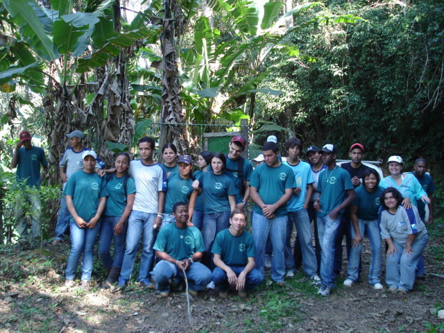 Students from Technical Agricultural School