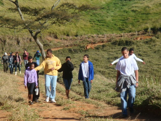 Arriving at the Wildlife Sanctuary