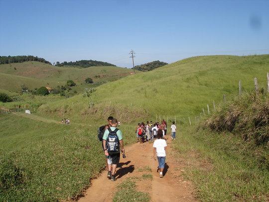 The road to the Wildlife Sanctuary