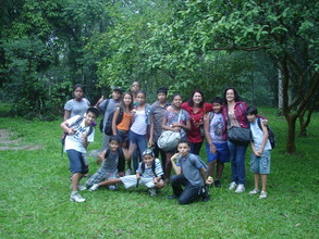 The group from Municipal School of Valenca, RJ.