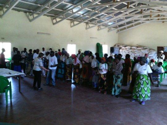 Global Giving representative ceremony