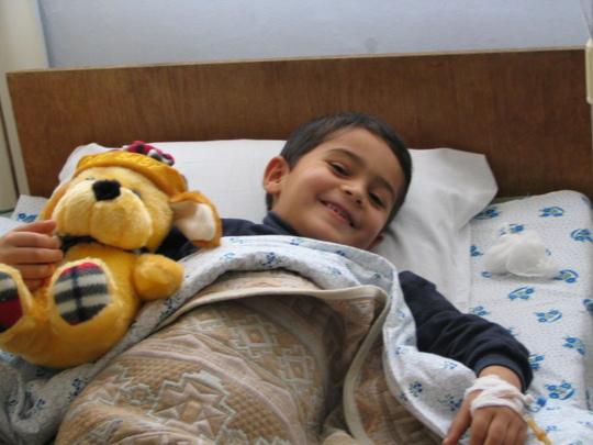 Visit to ill child