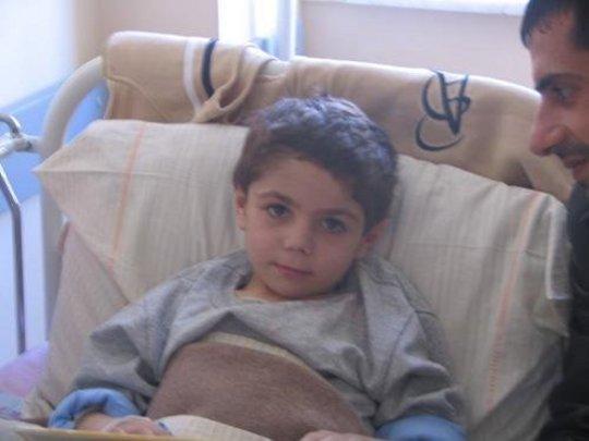 6 year-old Khachik Sargsyan