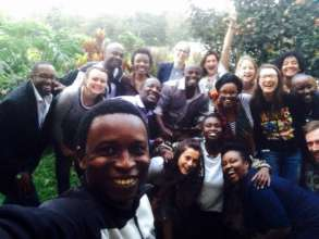 Filmmakers & the Good Pitch Kenya team celebrate