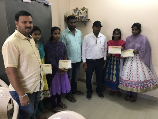Sponsoring education for poor girl students