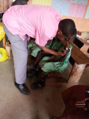 Immunization at Kutamba
