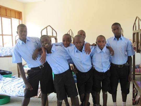 NVSS Boys in Their Temporary Dorm