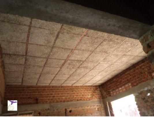 Boys Dormitory Roof with Plywood!