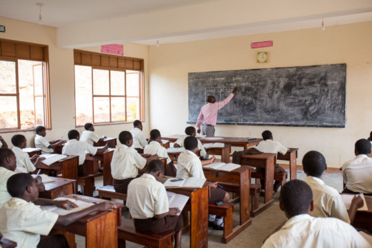 NVSS Students in Class
