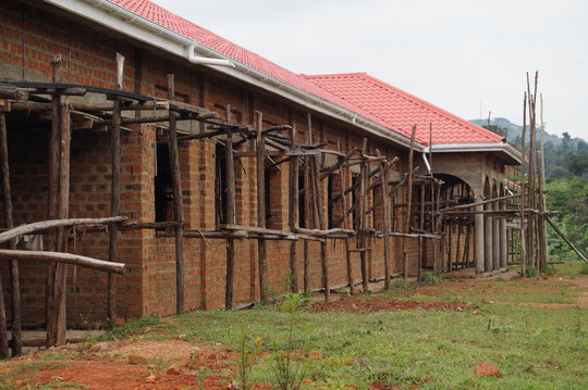 Girls Dormitory under costruction