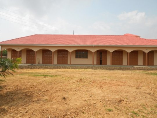 Completed Tailoring and Brick Laying Workshop