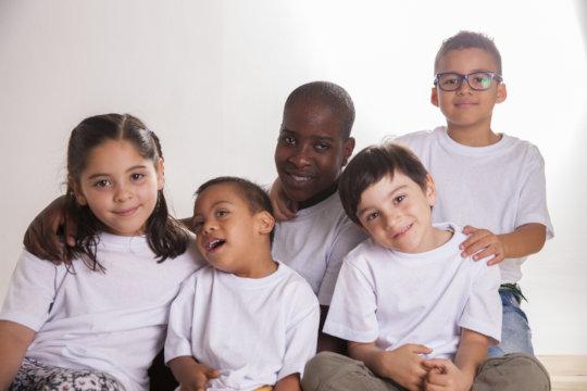 Help children with disabilities in Medellin
